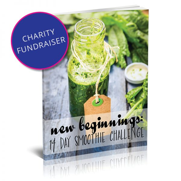 14-Day-Smoothie-Challenge Charity Fundraiser